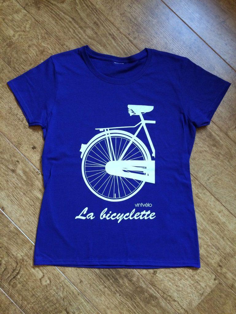 La bicyclette - blue