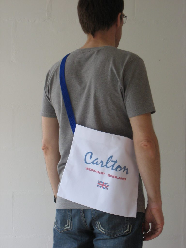Custom musette order for Carlton Cycles