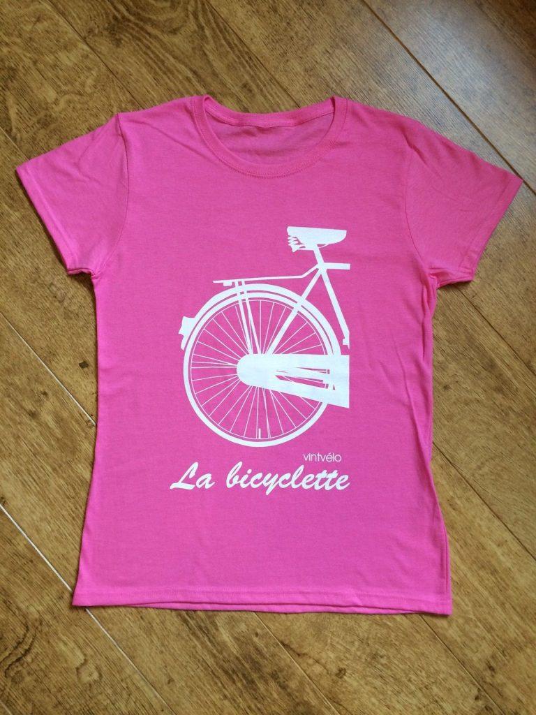 La bicyclette - pink