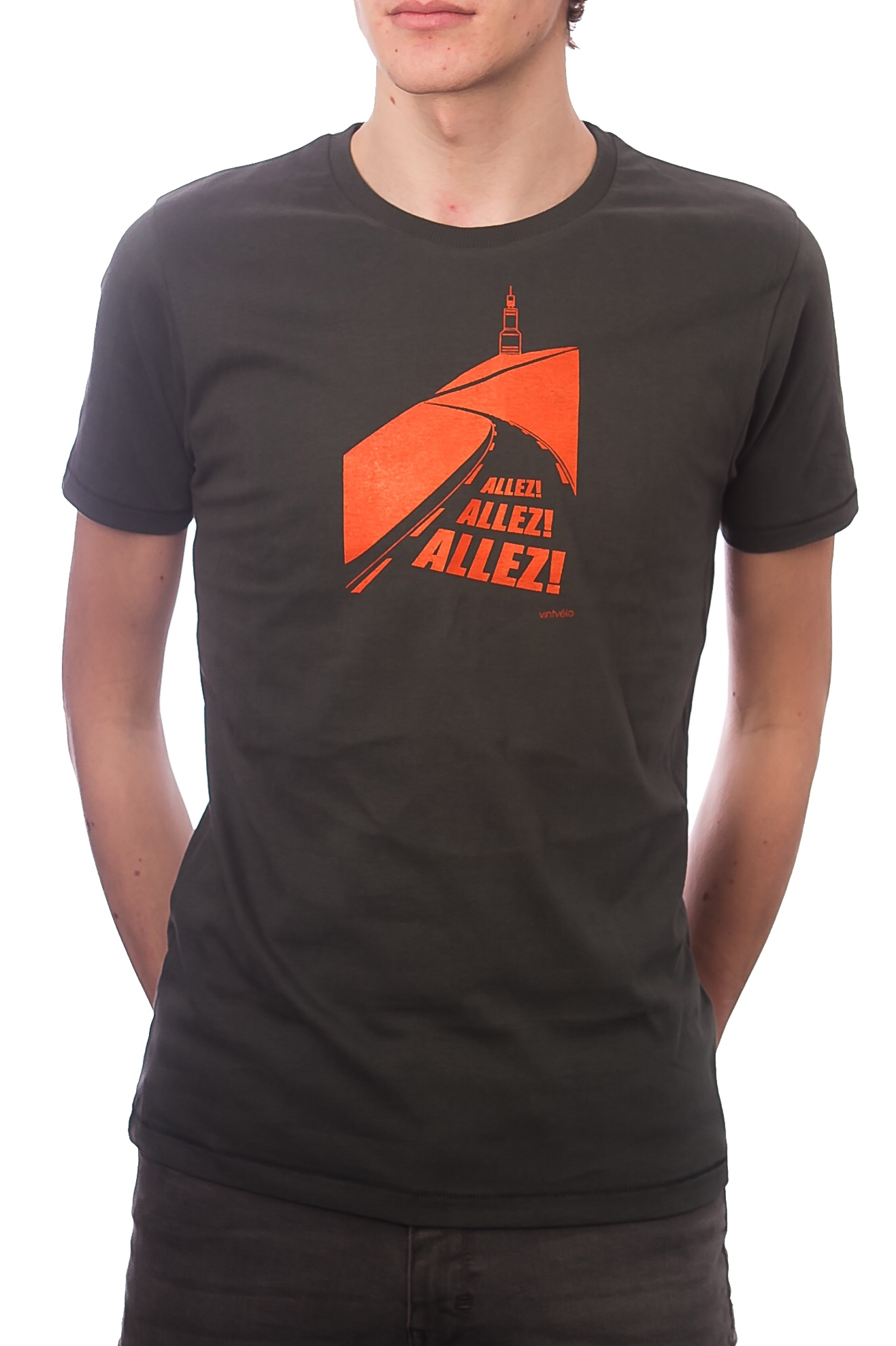 b3b15087 Men's cycling T-shirt – Mont Ventoux – Jersey cotton – vintvélo